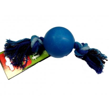 Hračka DF preťahovacia lopta modrá