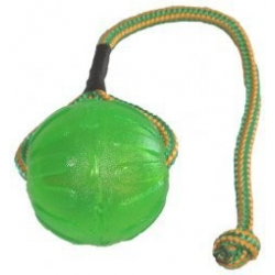 Starmark swing and fling chew ball