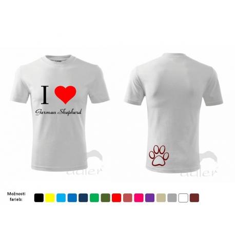Tričko I LOVE ...