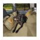 Ochranný potah na sadné sedadlá