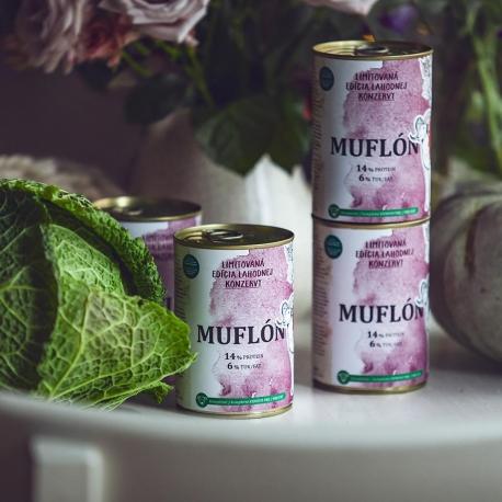 Muflon konzervy limitovana edicia