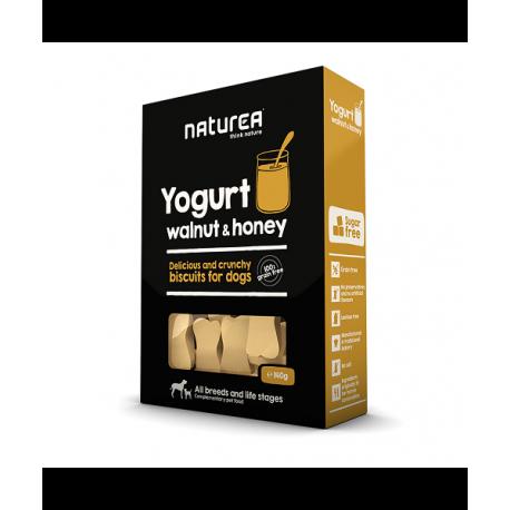 Naturea odmeny - keksy - Jogurt, vlašské orechy a med