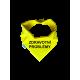 Žltá šatka s napisom (kampaň žltá stužka)